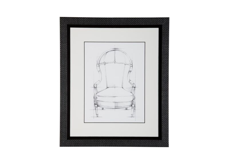 Historic Chair Sketch VII