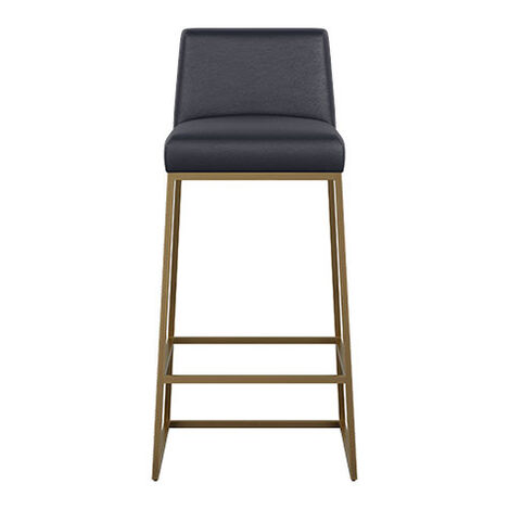 Jewel Metal Base Leather Barstool Product Tile Image 712512