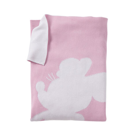 Minnie Mouse Miss Mouse Stroller Blanket, Petal ,  , large