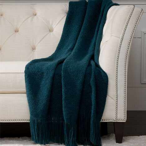 Serene Throw, Teal ,  , large