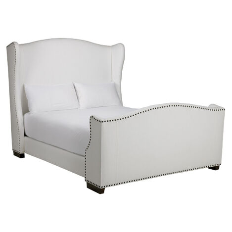 Kayla Bed with Tall Footboard ,  , large