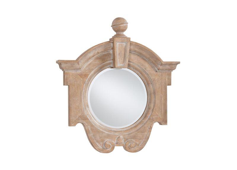 Aged Oak Gisele Mirror