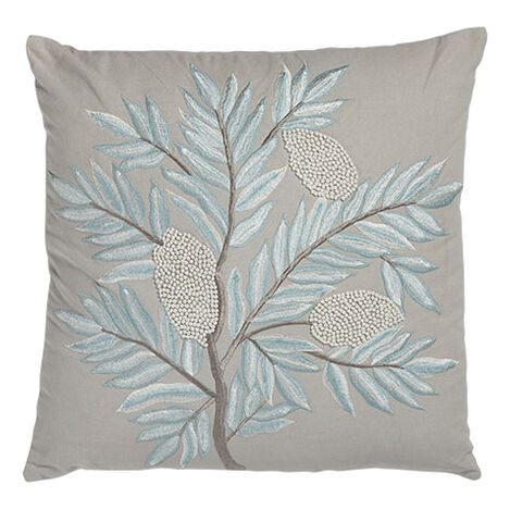 French Knot Floral Pillow ,  , large