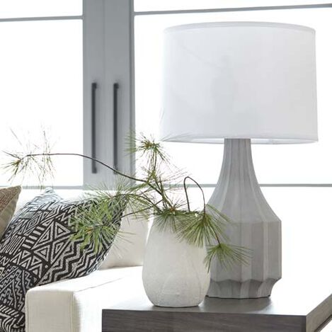 Owden Ribbed Table Lamp Product Tile Hover Image 096077