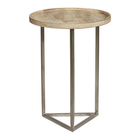 Bolton Round Wood Accent Table Product Tile Image Bolton