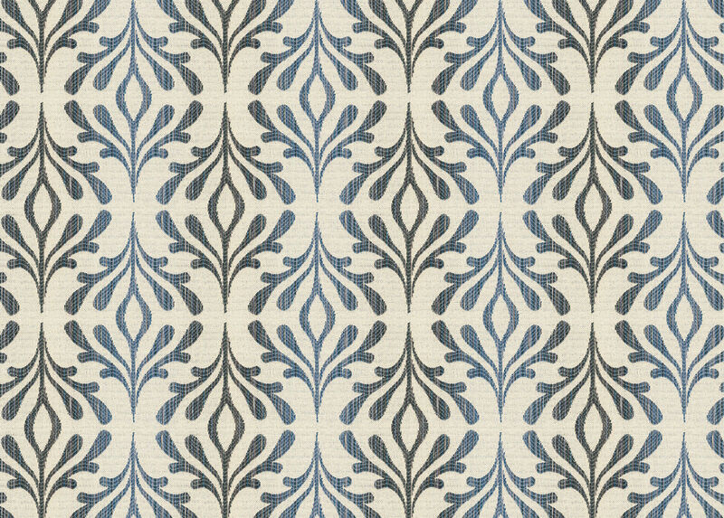 Leigha Blue Fabric by the Yard