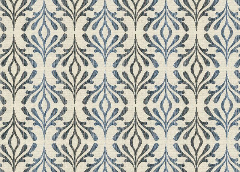 Leigha Blue Fabric by the Yard