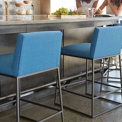 Jewel Metal Base Counter Stool Product Tile Hover Image 132513