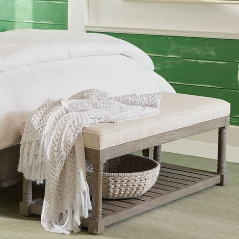 Brooks Upholstered Bench Seat Product Tile Hover Image 225338