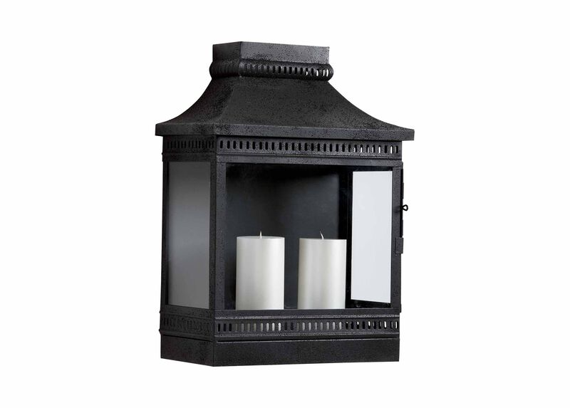 Black Fulton Wall Lantern ,  , large_gray