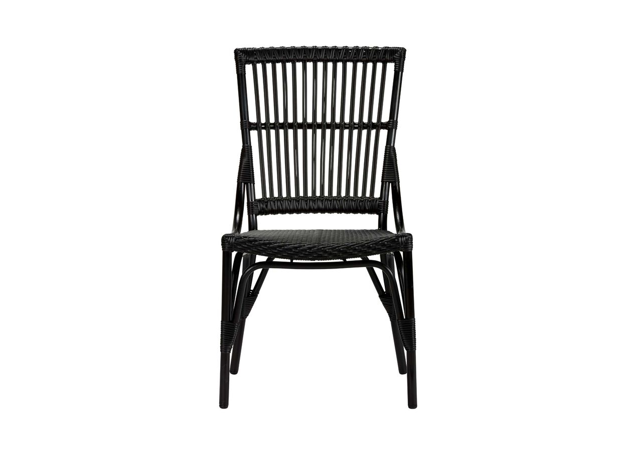 Vero dunes woven dining side chair selected 1