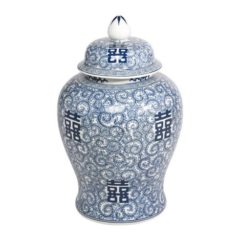 Blue and White Temple Jar Product Tile Image 432368