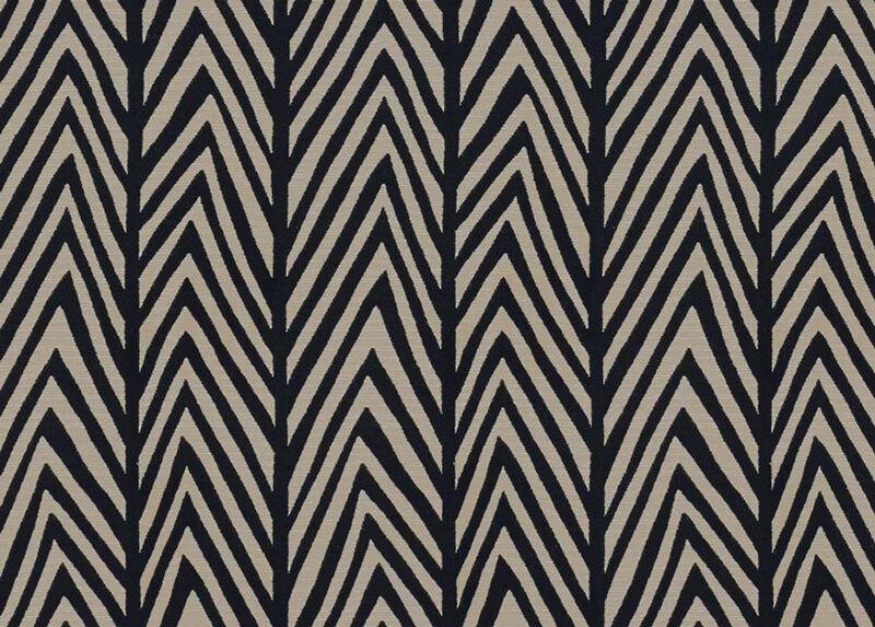 Tempest Black Fabric