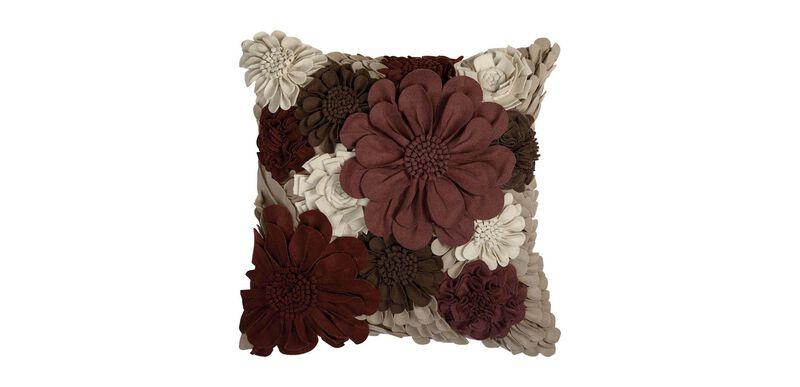 Wildflower Pillow, Beet