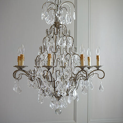 Eight Light Olympia Chandelier Product Tile Hover Image 093682