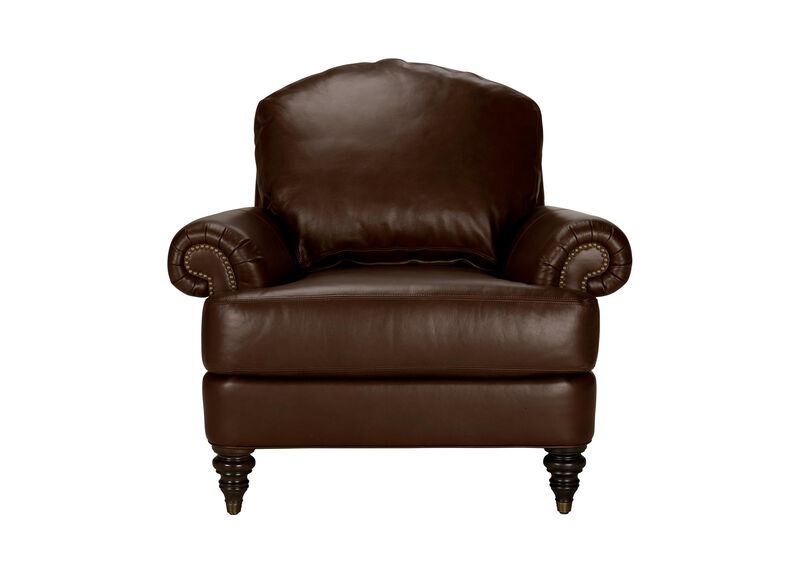 Hyde Leather Chair, Quick Ship ,  , large_gray