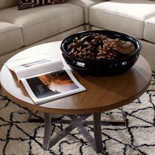 ... Large Roswell Round Coffee Table , , Hover_image