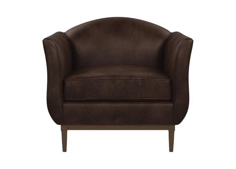 Audrey Leather Chair ,  , large_gray