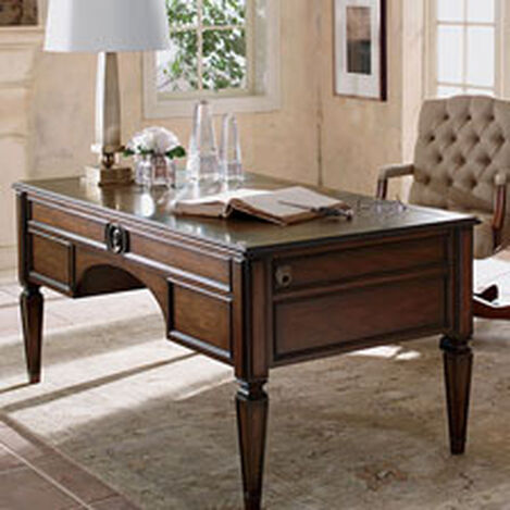 Buckley Leather-Top Desk ,  , hover_image