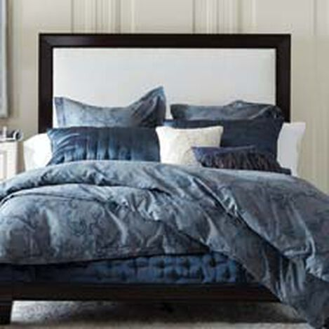 Large Andover Low Upholstered Bed Hover Image