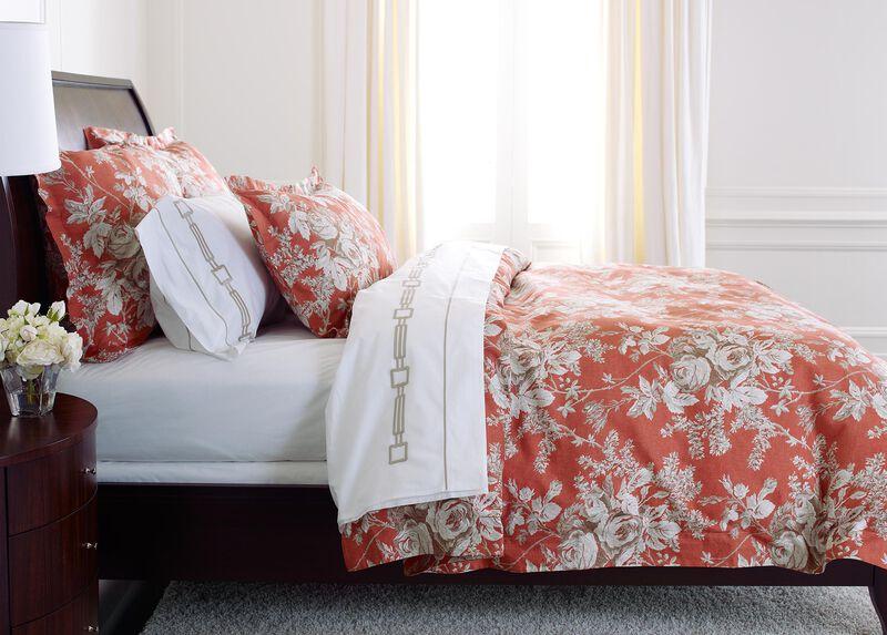 Ingrid Floral King Duvet Cover ,  , large_gray