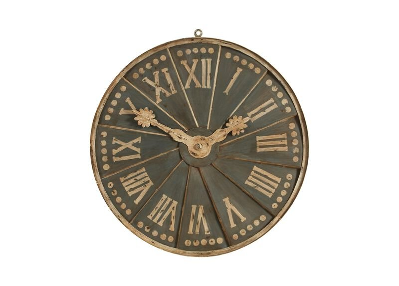 European Clock Dial Fragment ,  , large_gray