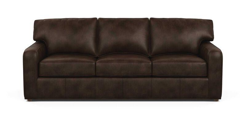 Retreat Track-Arm Leather Sofa