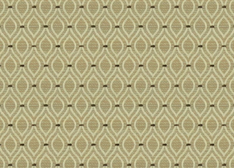 Tazio Ecru Fabric by the Yard