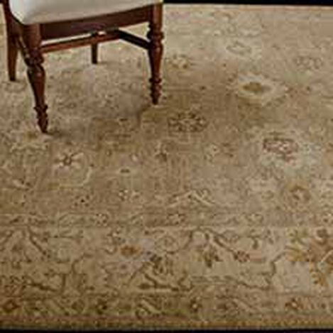 Oushak Rug, Light Gold/Ivory Product Tile Hover Image 041518
