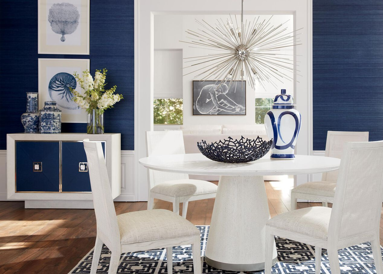 Gracedale Round Dining Table | Oak Dining Table | Ethan Allen