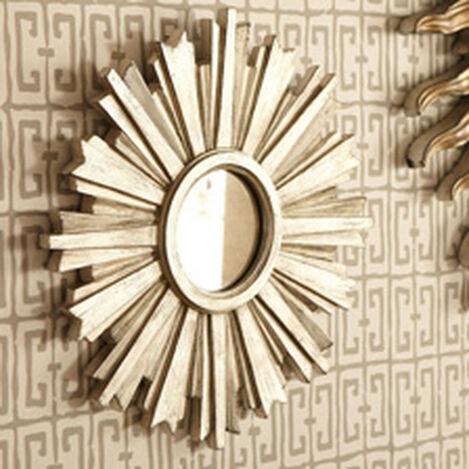 Mini Silver Starburst Mirror ,  , hover_image