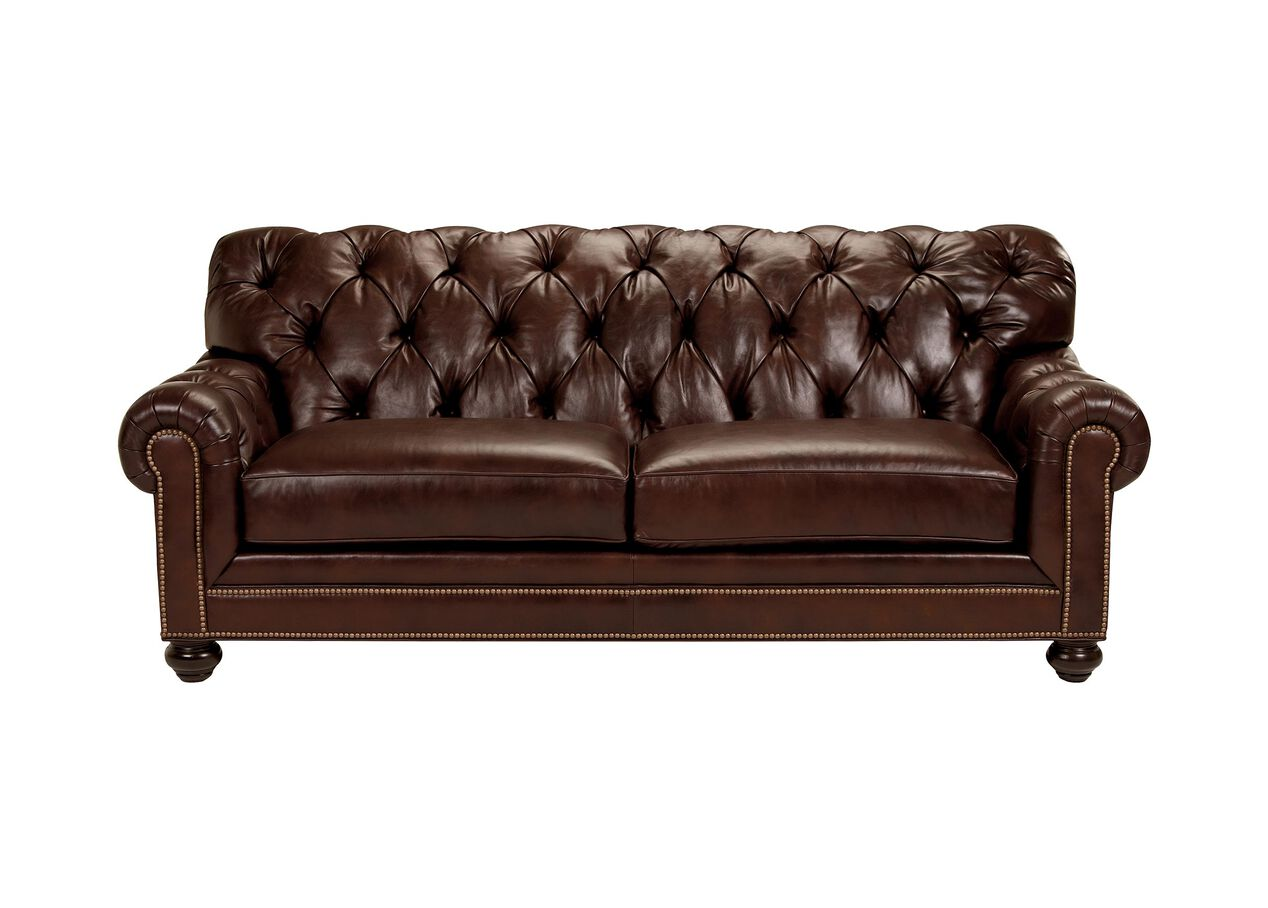 Chadwick 86 Quot Leather Sofa Cassidy Brasil Ethan Allen