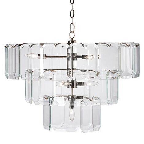 Raija Glass Chandelier Product Tile Image 093626MST