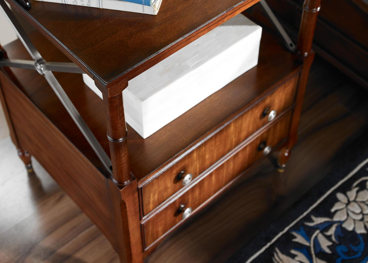 Eugene Night Table Ethan Allen Two Drawer Night Stand Ethan Allen