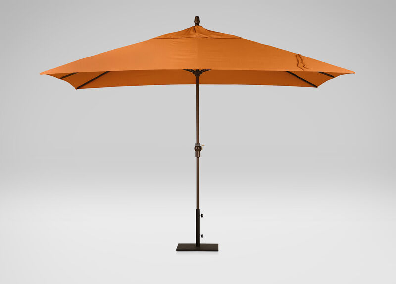 Tuscan Sun Rectangular Market Umbrella ,  , large_gray