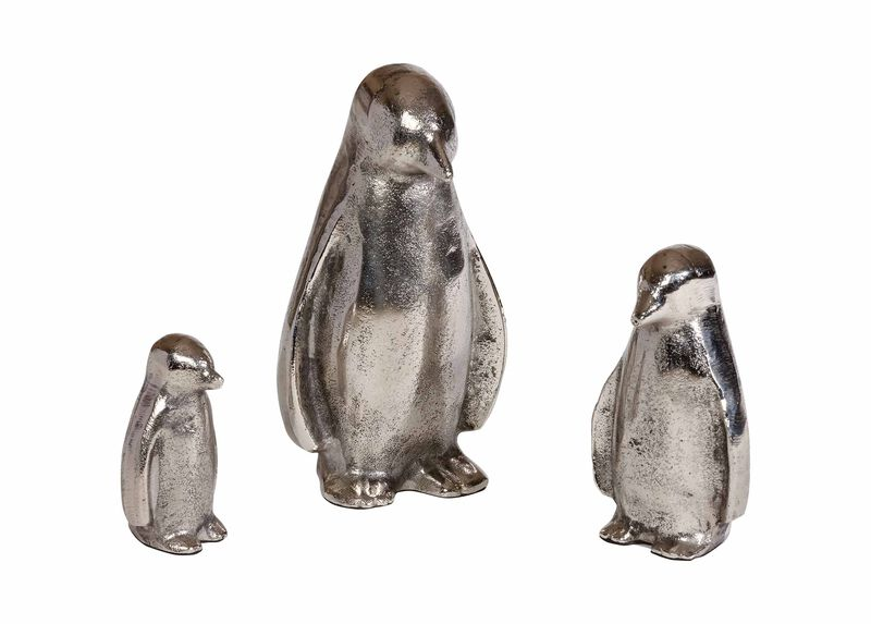 Emperor Penguins, set of 3 ,  , large_gray