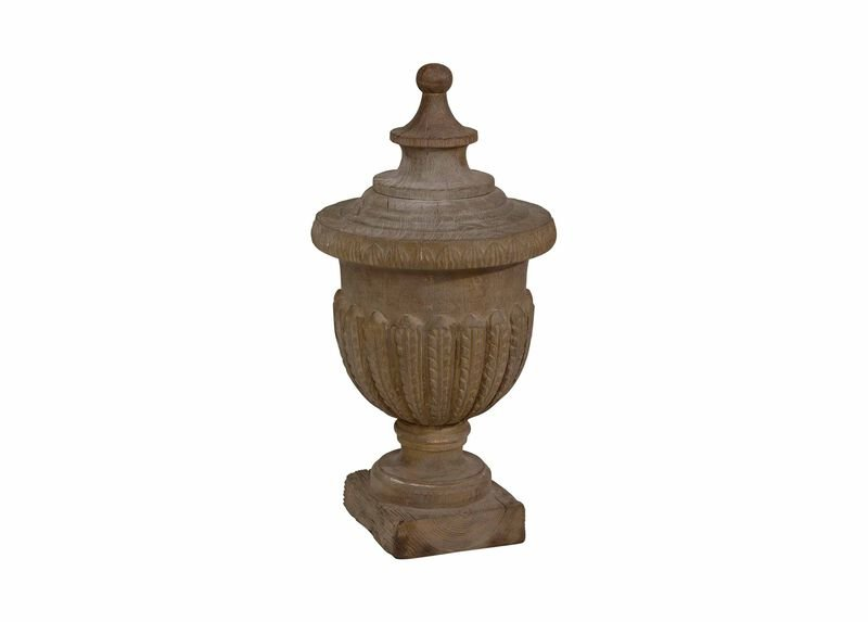 Neo-Classical Wood Finial ,  , large_gray