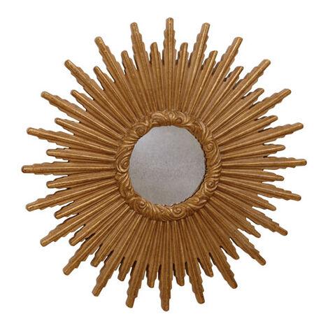 """24"""" Gold Starburst Mirror ,  , large"""