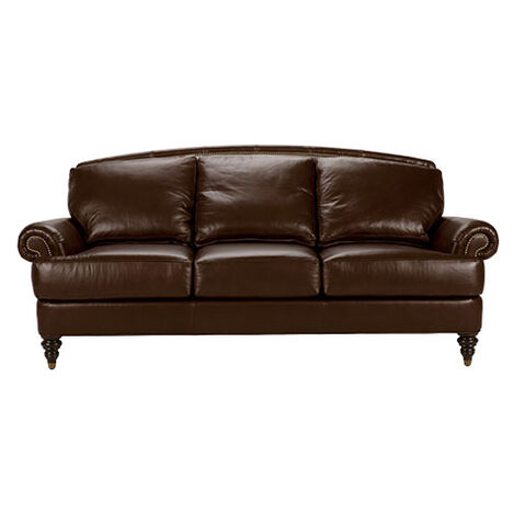 Hyde Leather Sofa, Quick Ship ,  , large