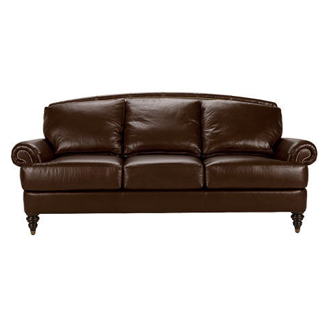 Hyde Leather Sofa, Quick Ship , , Large Part 80