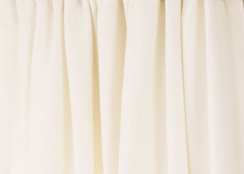 White Sayre Washed Linen Fabric ,  , large_gray