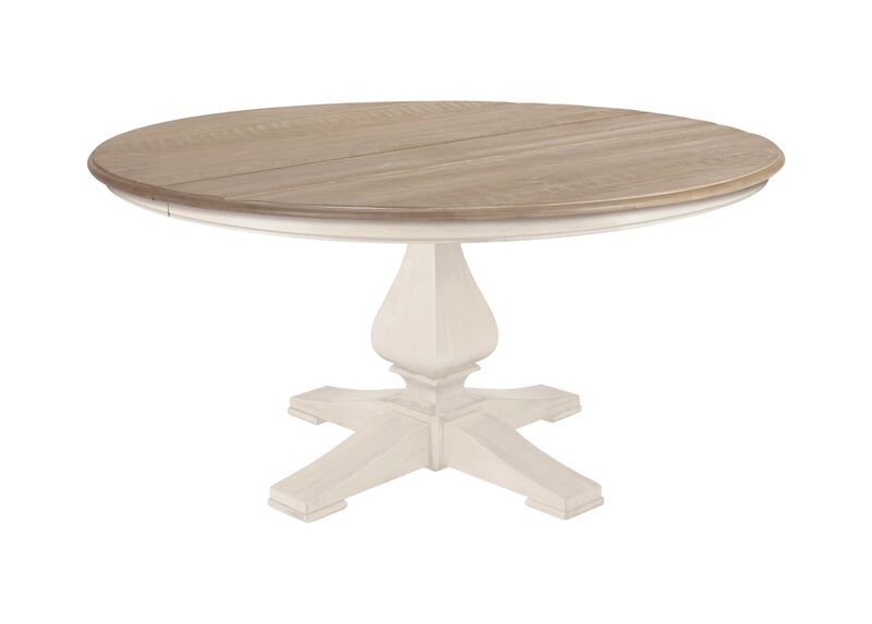 Cameron Rustic Round Dining Table