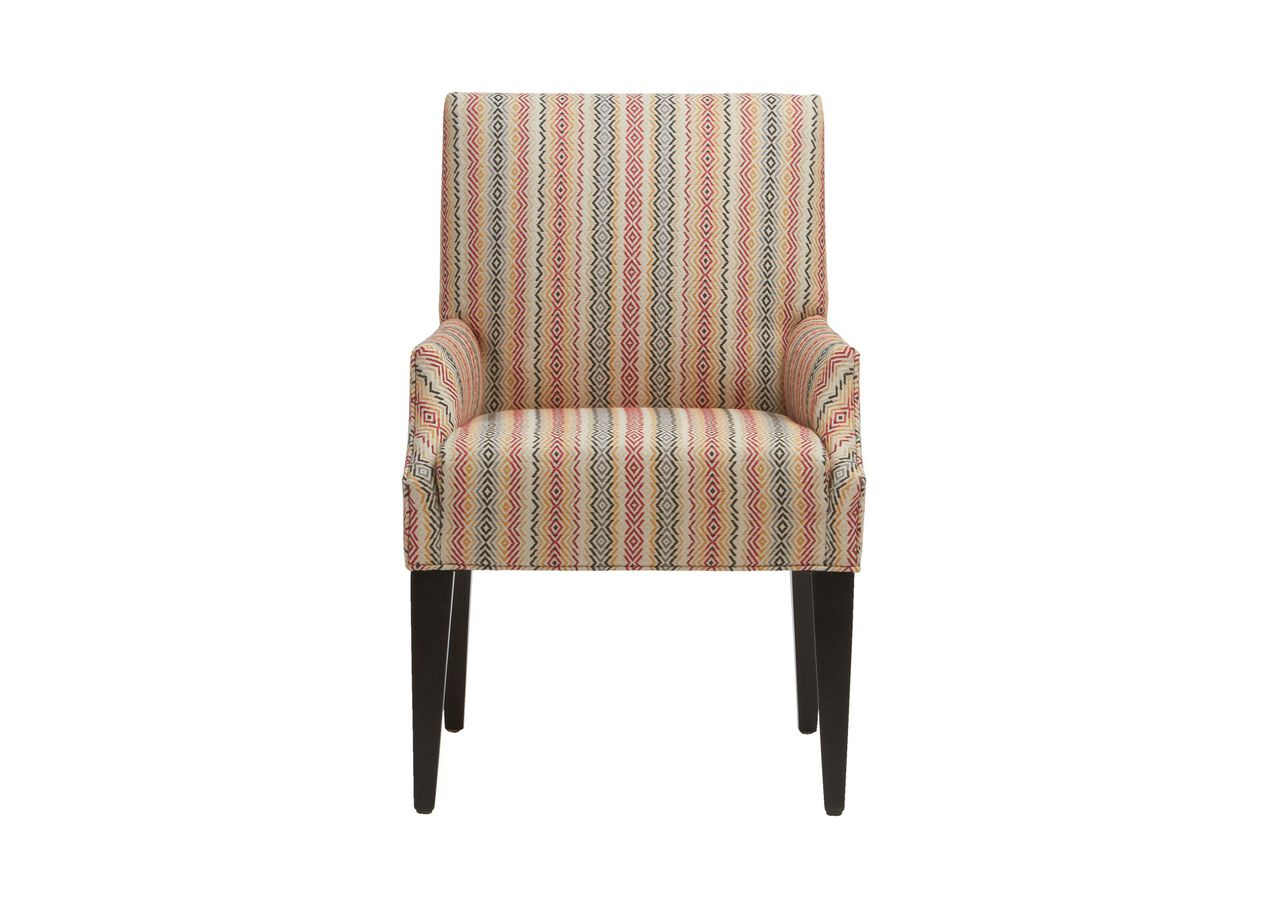 Clinton armchair arm host chairs for Dining room arm chairs