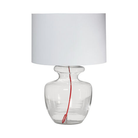 Grand Glass Table Lamp Product Tile Image 096005   CLR