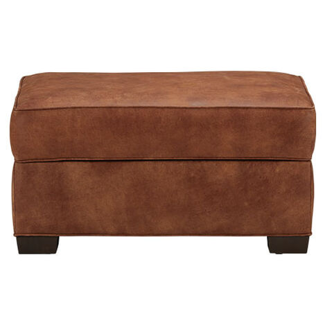Spencer Leather Ottoman Product Tile Image 722360