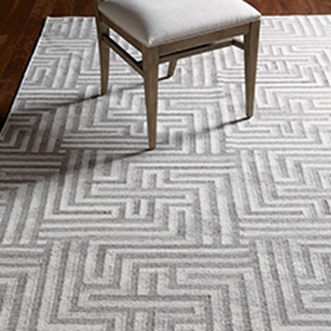 Labyrinth Rug, Ivory/Gray ,  , hover_image