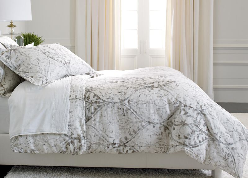 Tuscan Gate Printed Duvet Cover Bedding Ethan Allen