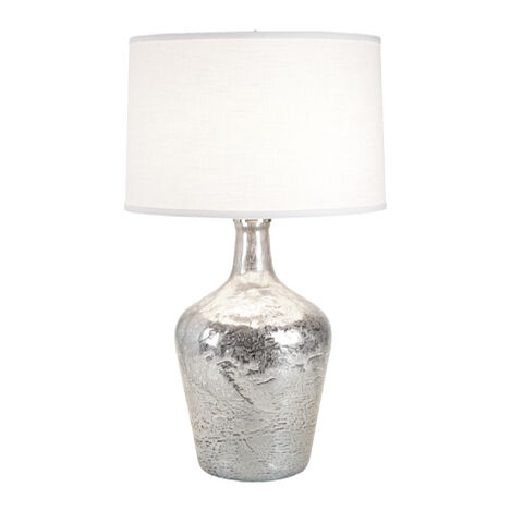 Small Silver Ice Plum Jar Lamp ,  , large