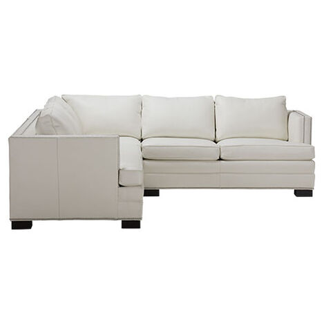 Astor Four-Piece Leather Sectional Product Tile Image 722460G4