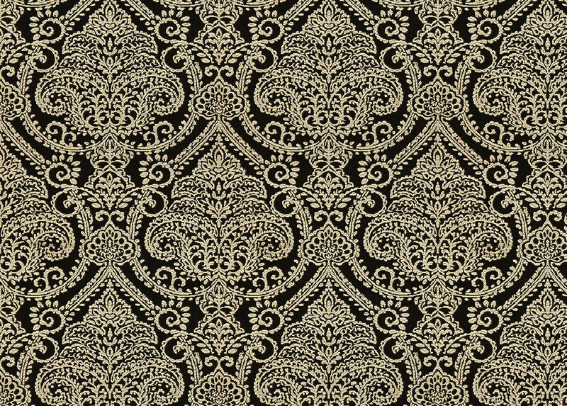 Lexi Black Fabric by the Yard